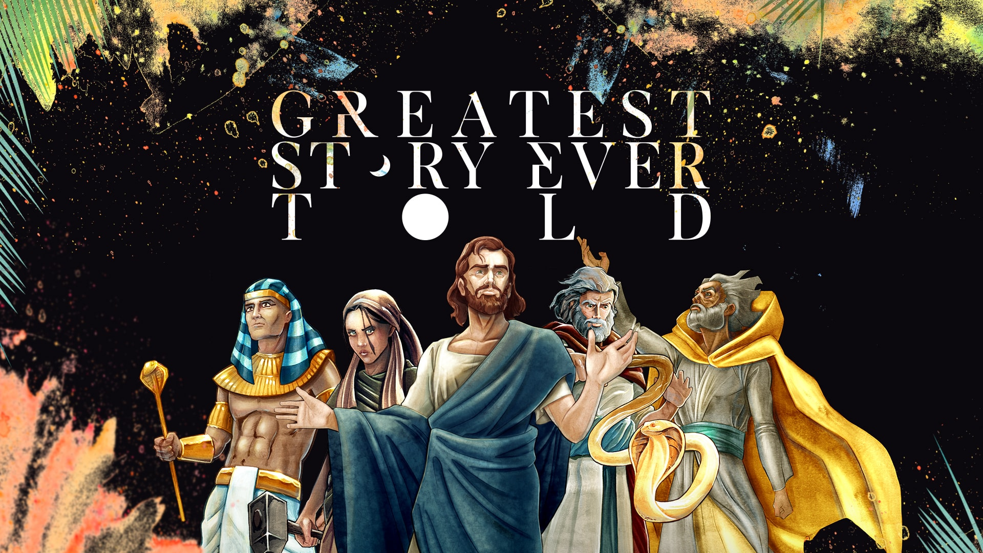 Watch Greatest Story Ever Told - Creation to Abraham