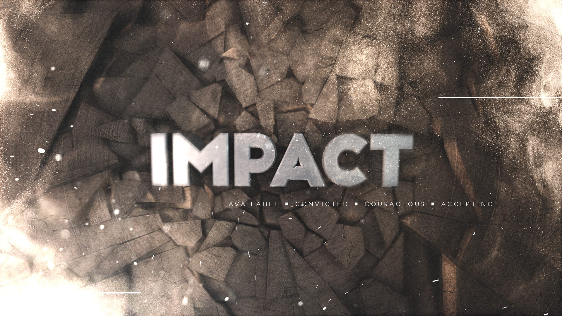 Watch Impact - Be Available