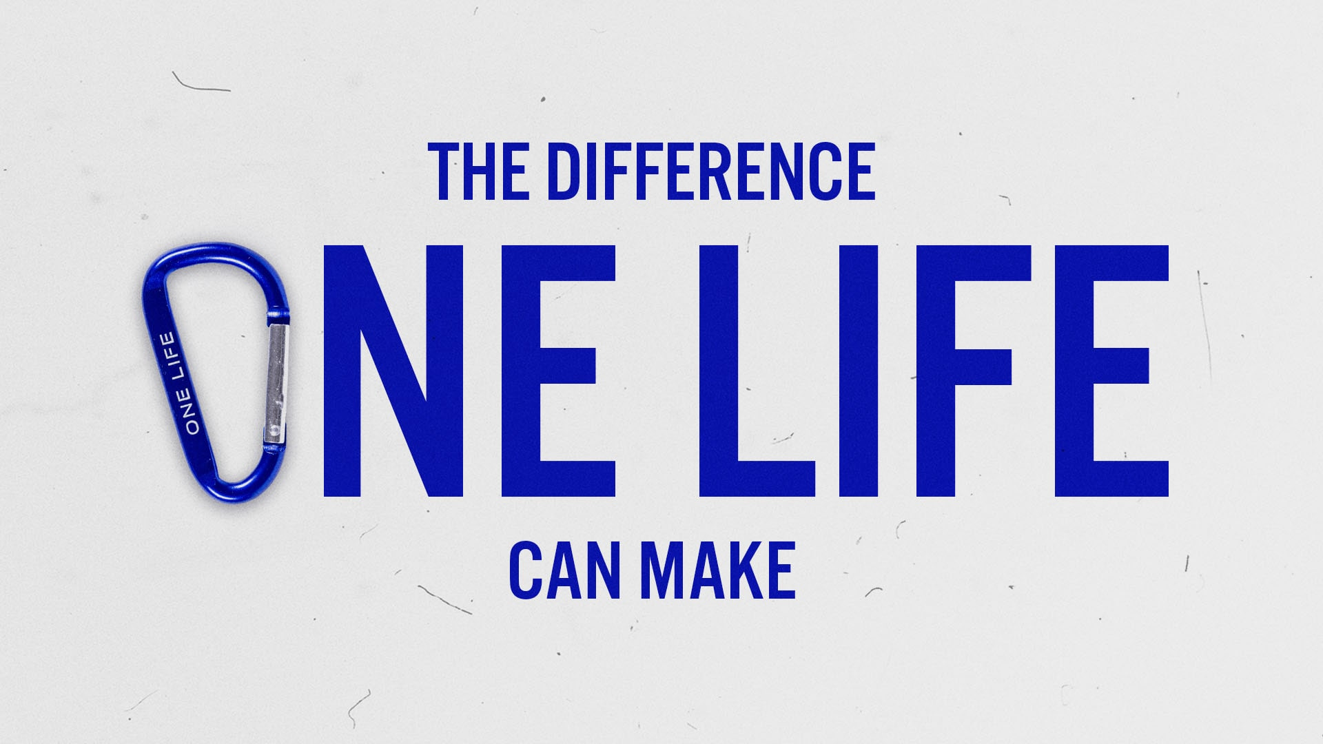 Watch The Difference One Life Can Make - The Difference One Life Can Make