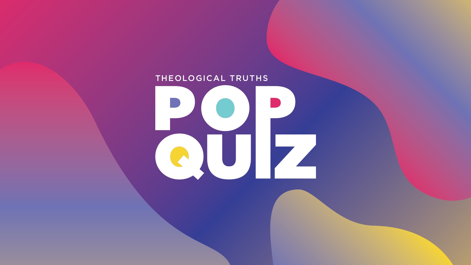Watch Pop Quiz - Who is God?